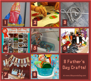 8 Fun Fathers Day Crafts (last minute gift ideas)