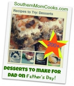 Father's Day Dessert Recipes
