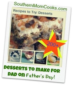 desserts for dad