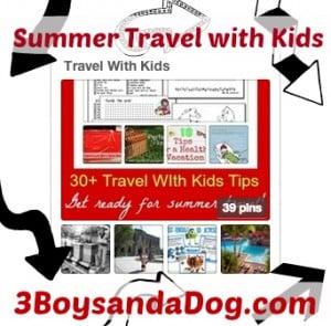 Summer Travel Activities for Kids