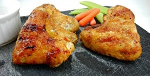 The Ultimate Tailgating Party: Grilled Chipotle Chicken Wings