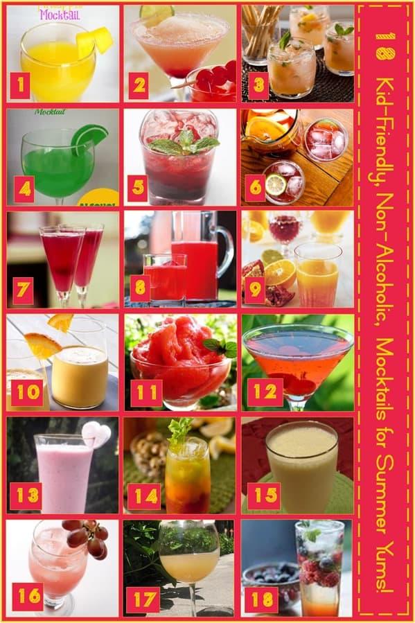18 Mocktails