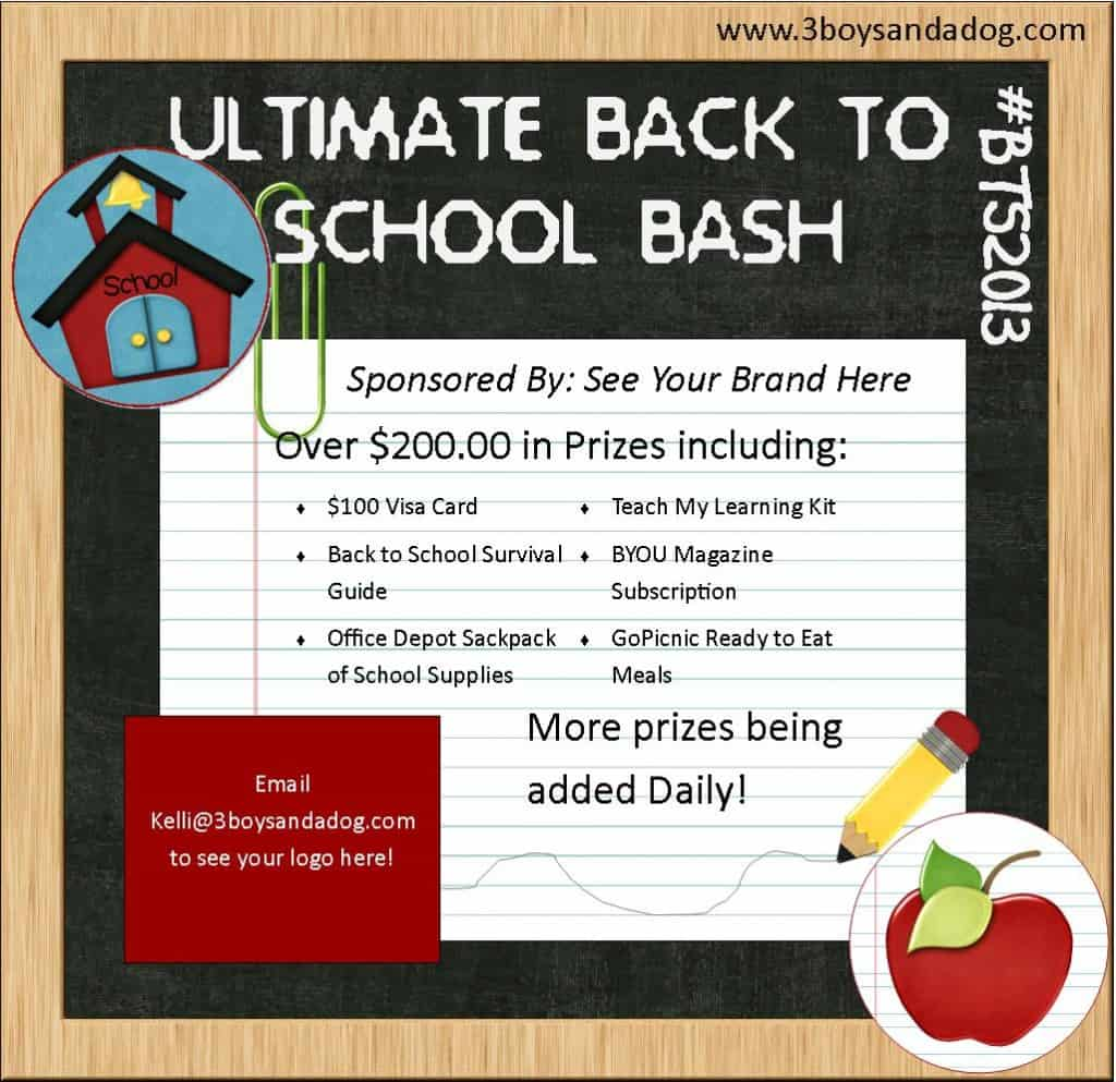 Back to School Bash 2013 1024x993 The Ultimate Back to School Bash: Blogger Signups #BTS2013