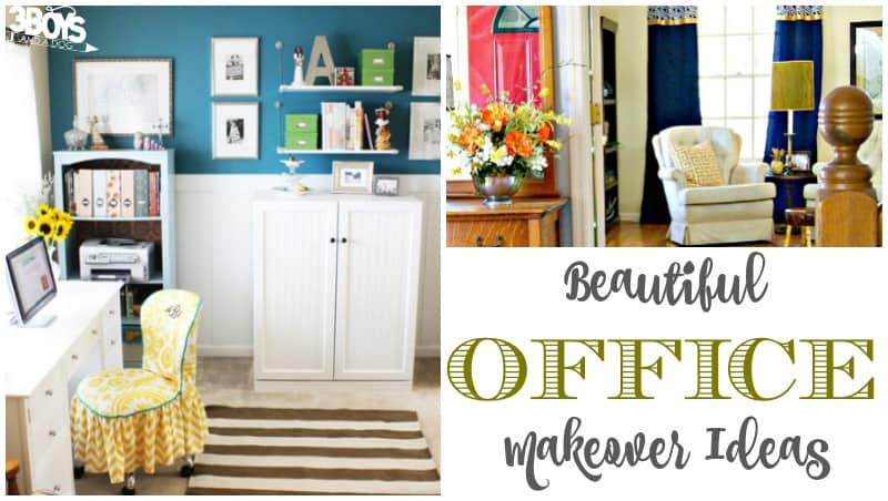 Beautiful Office Makeover Ideas