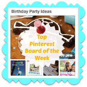 Top Pinterest Board of the Week: Birthday Party Ideas