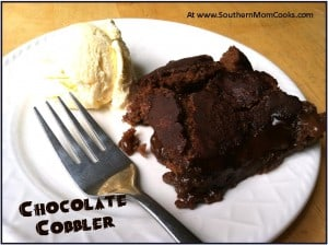 Fabulous Chocolate Cobbler