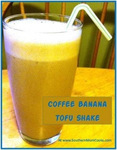 Coffee-Banana Tofu Shake 2