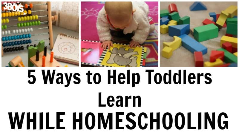 Educational Toddler Activities for Homeschoolers to Try