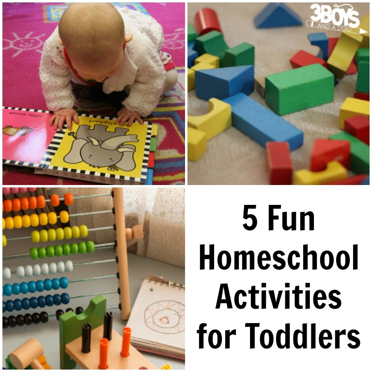 Educational Toddler Activities