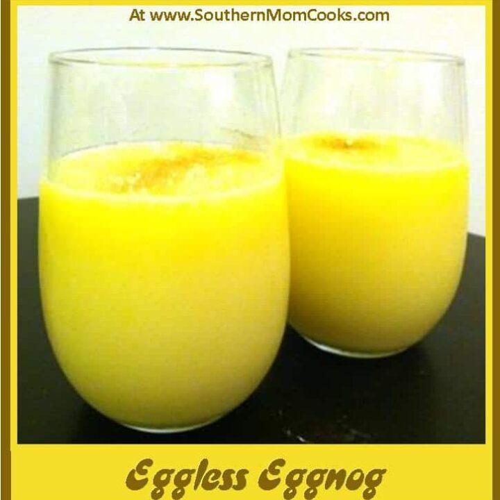 Eggless Eggnog Recipe