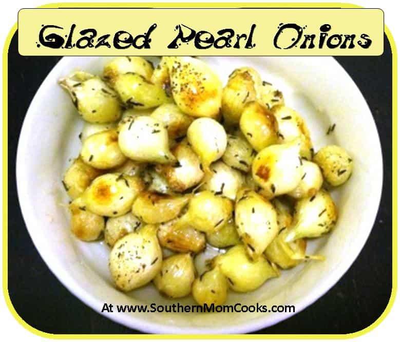 Glazed Pearl Onions 2
