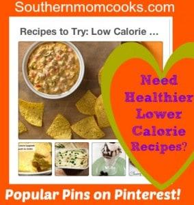 Healthier Lower Calorie Recipes
