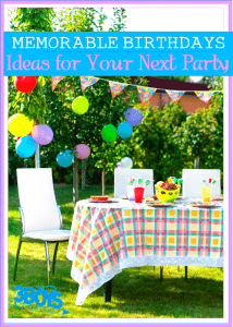 Keys To Throwing A Memorable Birthday Party