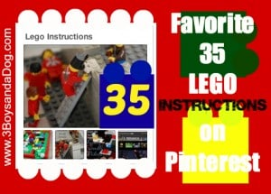 35 LEGO Instruction Ideas