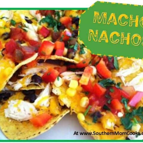 Macho Nachos recipe