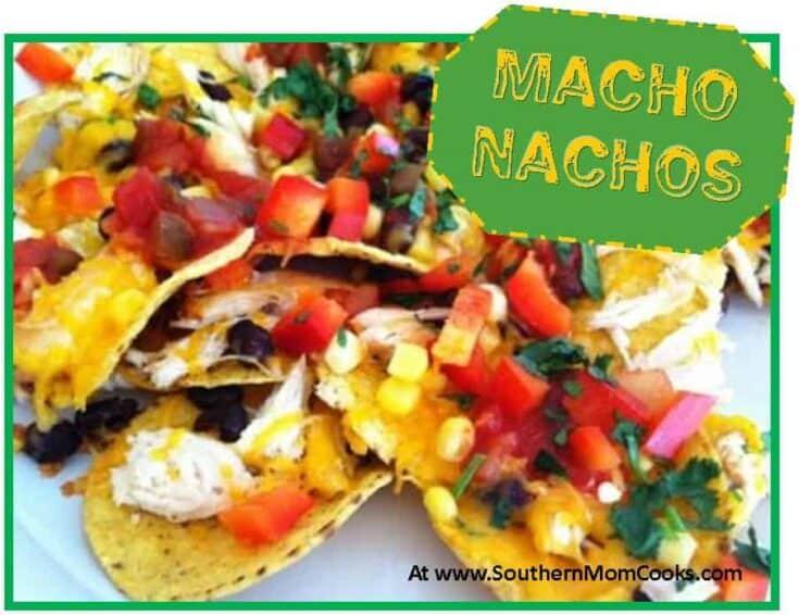 Macho Nachos Appetizer