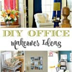 20+ DIY Office Makeover Ideas
