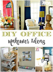 Over 20 Office Makeover Ideas