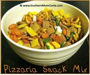 Pizzaria Snack Mix