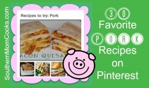 30 Favorite Pork Recipes