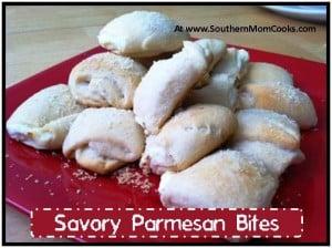 Savory Parmesan Bites