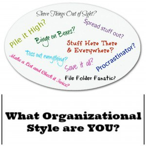 What Organizing Style Are You