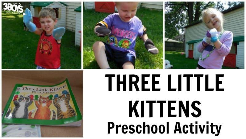 The Three Little Kittens Preschool Activity