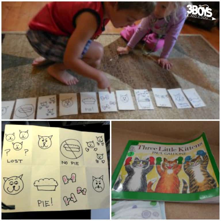 Three Little Pigs Story Sequencing Activity for Preschool
