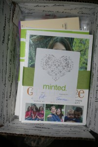 Giveaway:  $75 Minted store credit