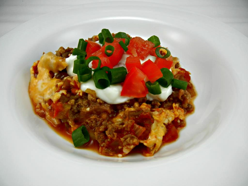 #UltimateTailgatingParty on Southern Mom Cooks. Slow Cooker Seven Layer Dip