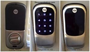 Yale keyless entry system