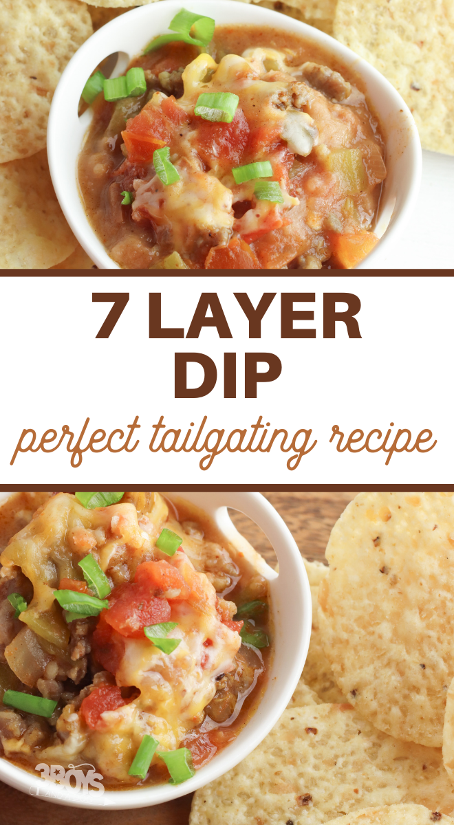crock pot seven layer dip