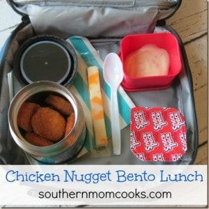 Chicken Nugget Bento Lunch