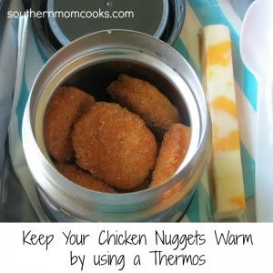 Chicken Nugget Lunch Idea