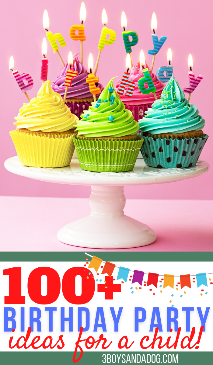hundreds of childrens birthday party ideas