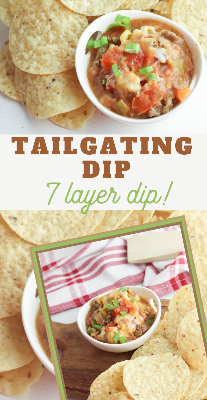 slow cooker 7 layer dip