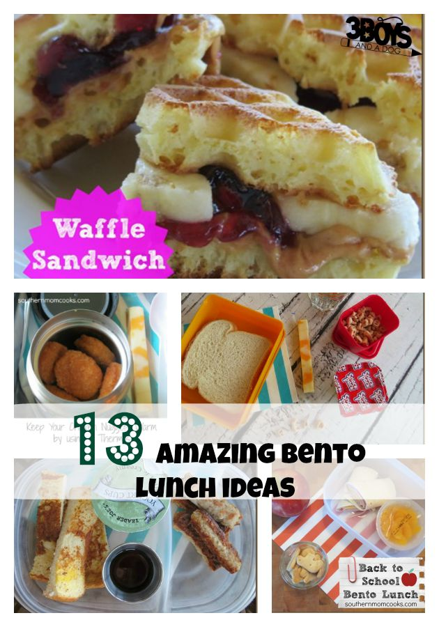 13 amazing bento lunch ideas