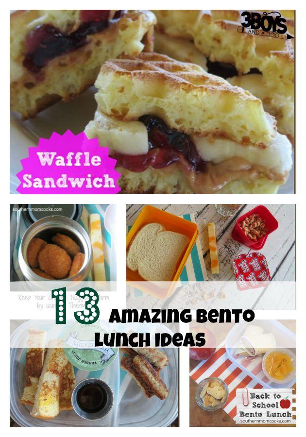 13 amazing bento lunch ideas
