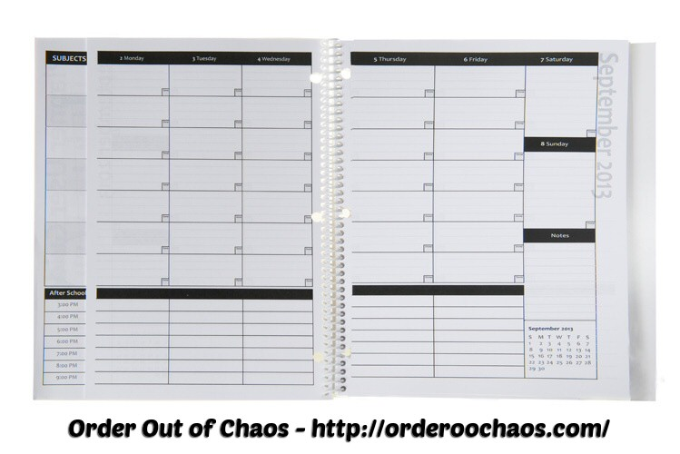 back-to-school, academic planners, organization