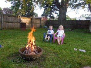 Campfire and Marshmallows July  (7)