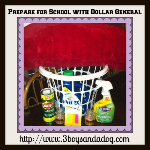 Prepare for School With Dollar General