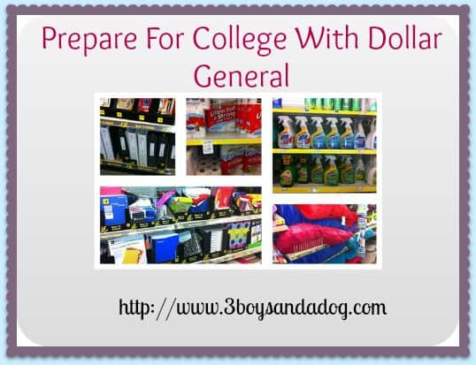 Prepare for College with Dollar General