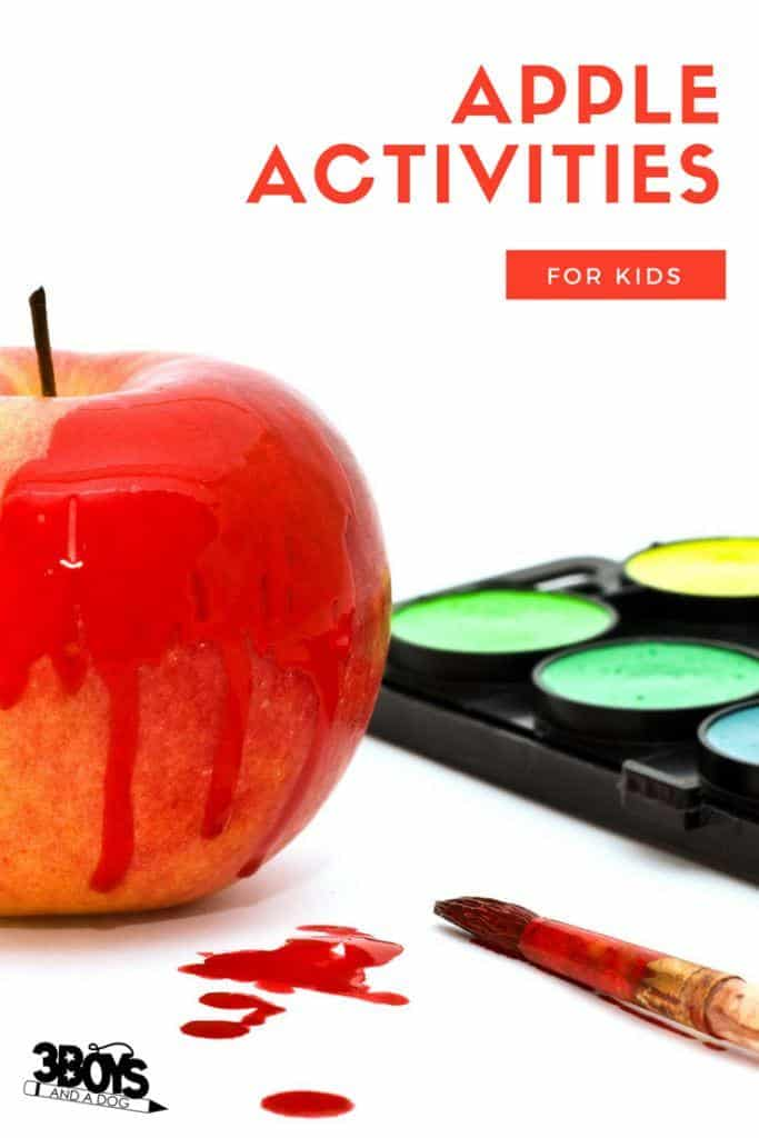 Educational Apple Activities for Kids