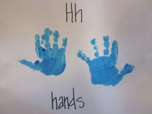 H is for Hands
