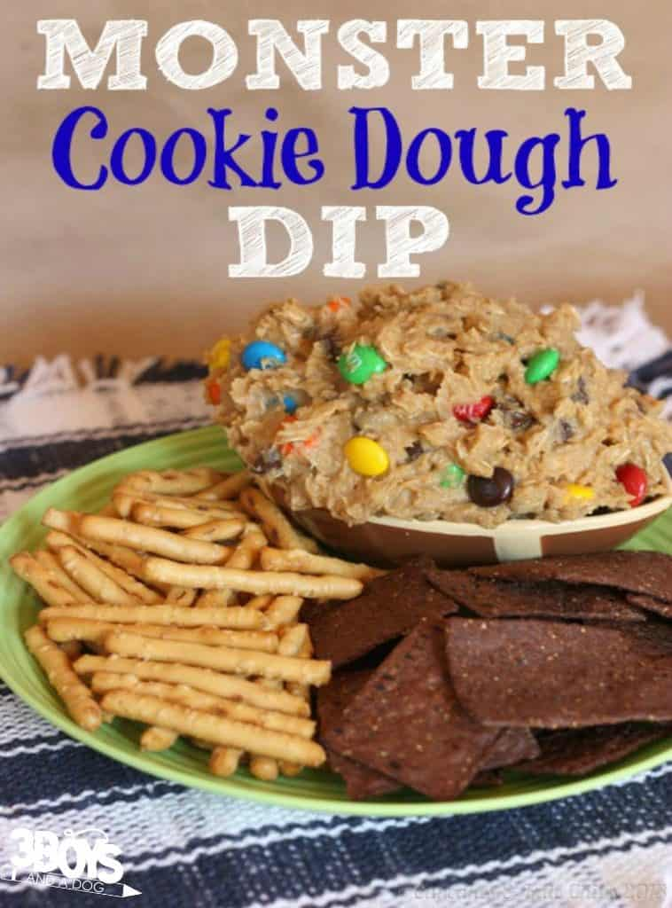 Monster Cookie Dough Dip for Parties
