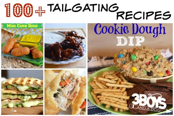 Over 100 Tailgating Recipes
