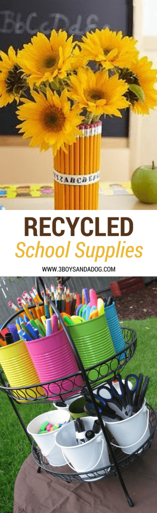 Recycled School Supplies
