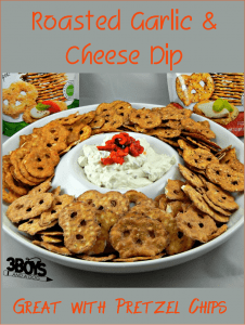 Roasted Garlic Cheese Dip Recipe