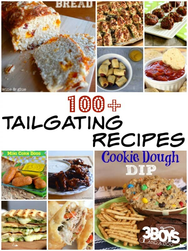 Tailgating Recipes Round Up