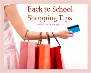 How to Plan For Back to School Shopping